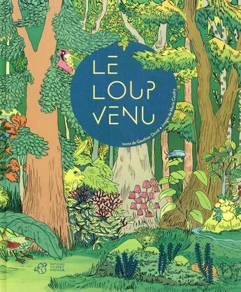 Couverture du livre « Le loup venu » de Marie Caudry et David Gauthier aux éditions Thierry Magnier
