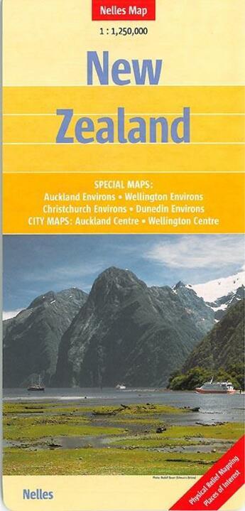 Couverture du livre « **Nouvelle Zelande** » de Collectif aux éditions Nelles