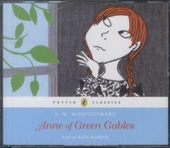 Couverture du livre « ANNE OF GREEN GABLES - UNABRIDGED 3 CDS » de Harper & Montgomery aux éditions Penguin Audio
