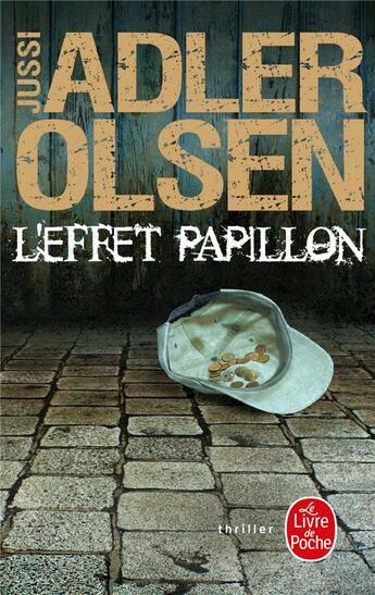 Couverture du livre « L'effet papillon » de Jussi Adler-Olsen aux éditions Lgf