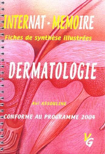 Couverture du livre « Dermatologie » de Avi Assouline aux éditions Vernazobres Grego