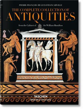 Couverture du livre « Antiquité d'Hancarville » de Pierre-Francois D Hancarville aux éditions Taschen