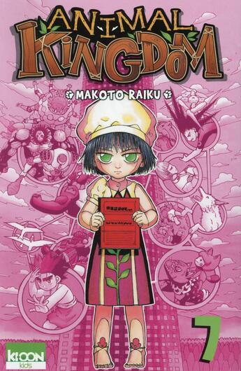 Couverture du livre « Animal kingdom t.7 » de Makoto Raiku aux éditions Ki-oon