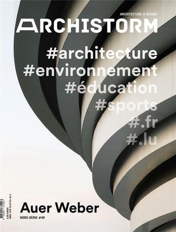 Couverture du livre « Auer weber » de Collectif aux éditions Archistorm