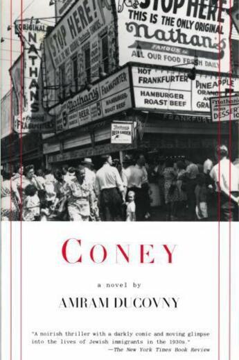 Couverture du livre « Coney » de Ducovny Amram aux éditions Overlook