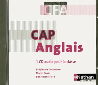 Couverture du livre « Aglais ; CAP en CFA ; A2/B1 ; CD audio (édition 2008) » de Stephanie Cottereau aux éditions Nathan