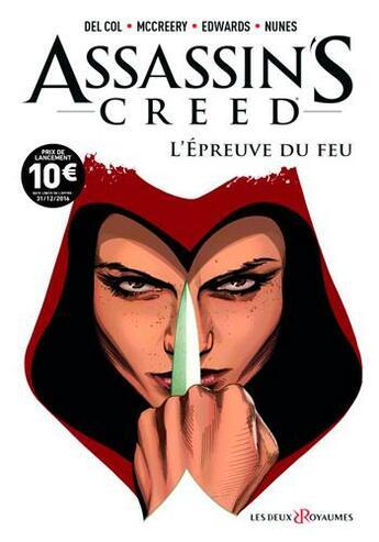 Couverture du livre « Assassin's creed t.1 » de Neil Edwards et Anthony Del Col et Conor Mc Creery et Ivan Nunes aux éditions Les Deux Royaumes
