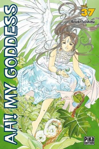 Couverture du livre « Ah! my goddess t.37 » de Kosuke Fujishima aux éditions Pika