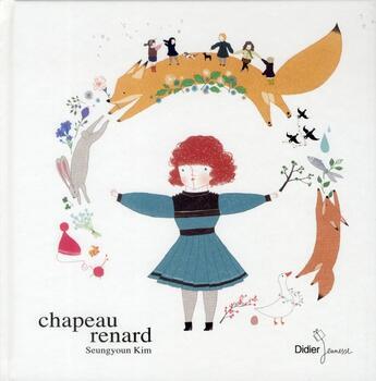 Couverture du livre « Chapeau-renard » de Seung-Youn Kim aux éditions Didier Jeunesse