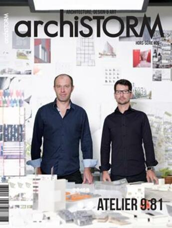 Couverture du livre « Archistorm hs atelier 9.81 - arcs6 » de Collectif aux éditions Archistorm