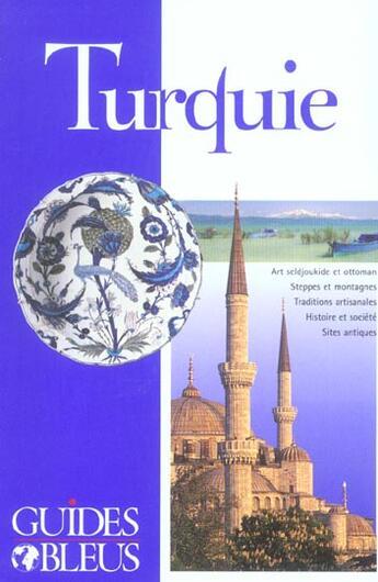 Couverture du livre « Turquie » de Collectif aux éditions Hachette Tourisme