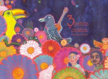 Couverture du livre « 3 petits contes » de Joy Hanoun aux éditions Naive