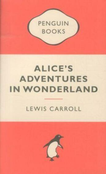 Couverture du livre « Alice's adventures in Wonderland » de Lewis Carroll aux éditions Adult Pbs