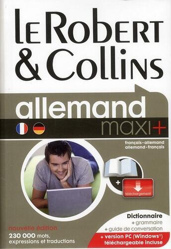 Couverture du livre « Français-allemand / allemand-français (édition 2011) » de Collectif aux éditions Le Robert