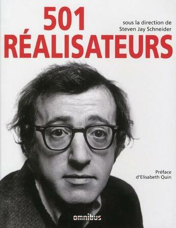 Couverture du livre « 501 réalisateurs » de Collectif aux éditions Omnibus