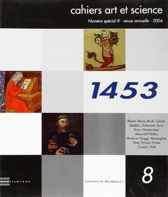 Couverture du livre « Cahiers art et science t.8 » de Collectif aux éditions Confluences