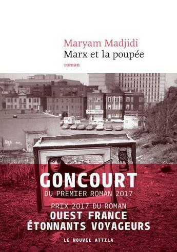 Couverture du livre « Marx et la poupée » de Maryam Madjidi aux éditions Le Nouvel Attila