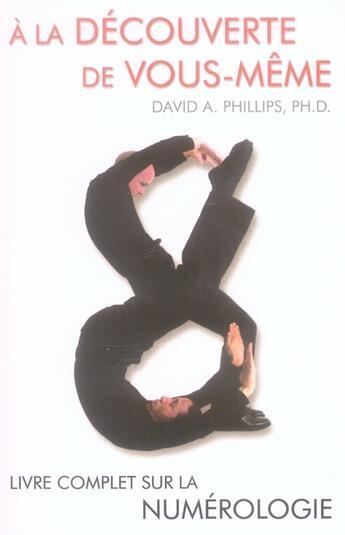 Couverture du livre « à la découverte de vous-même » de Phillips David A. aux éditions Ada