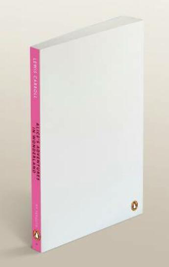 Couverture du livre « Alice's adventures in wonderland » de Lewis Carroll aux éditions Penguin Books