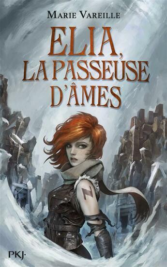 Couverture du livre « Elia, la passeuse d'âmes T.1 » de Marie Vareille aux éditions Pocket Jeunesse