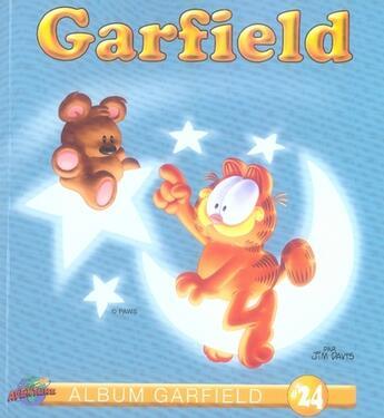 Couverture du livre « Album Garfield T.24 » de Jim Davis aux éditions Presse Aventure