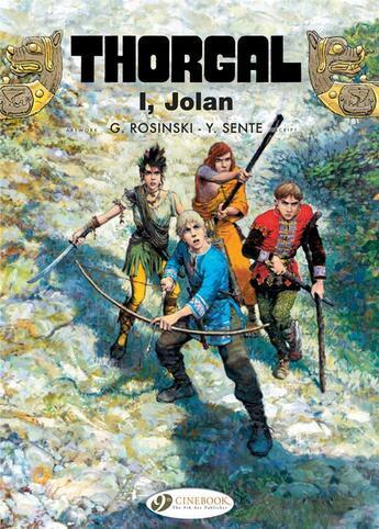 Couverture du livre « Thorgal T.22 ; Jolan » de Jean Van Hamme et Grzegorz Rosinski aux éditions Cinebook