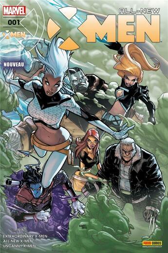 Couverture du livre « All-new X-Men t.1 » de Collectif aux éditions Panini