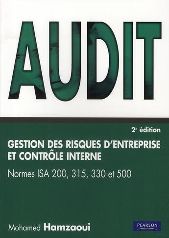 Couverture du livre « Audit, gestion des risques et contrôle interne (2e édition) » de Collectif aux éditions Village Mondial