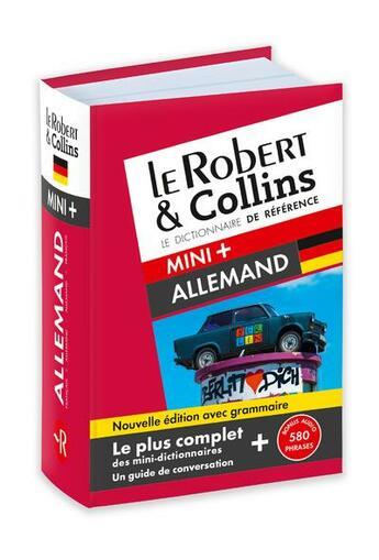 Couverture du livre « LE ROBERT & COLLINS ; MINI + ; dictionnaire allemand » de Collectif aux éditions Le Robert