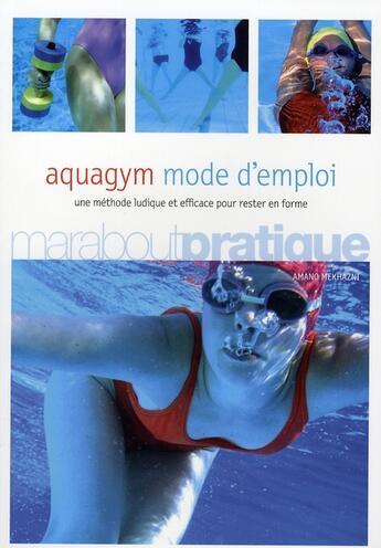 Couverture du livre « Aquagym » de Amano Mekhazni aux éditions Marabout