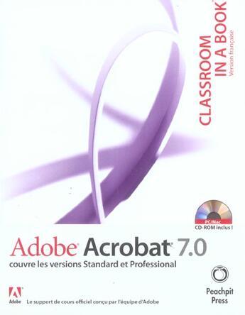 Couverture du livre « Acrobat 7 » de Collectif aux éditions Informatique Professionnelle