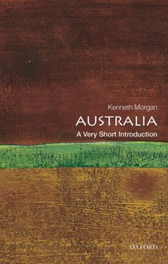 Couverture du livre « Australia: A Very Short Introduction » de Kenneth O. Morgan aux éditions Oup Oxford