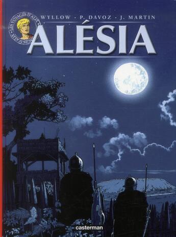 Couverture du livre « Alesia » de Martin/Wyllow/Davoz aux éditions Casterman