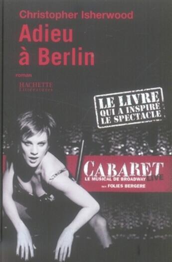 Couverture du livre « Adieu A Berlin » de Isherwood-C aux éditions Hachette Litteratures