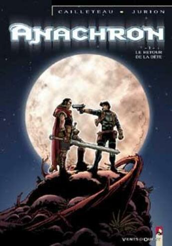 Couverture du livre « Anachron t.1 ; le retour de la bête » de Joel Jurion et Thierry Cailleteau aux éditions Vents D'ouest