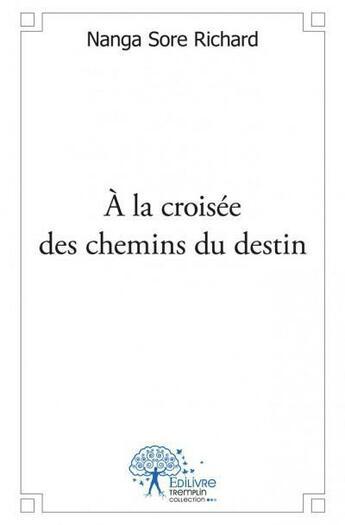 Couverture du livre « À la croisée des chemins du destin » de Richard Sore Nanga aux éditions Edilivre-aparis