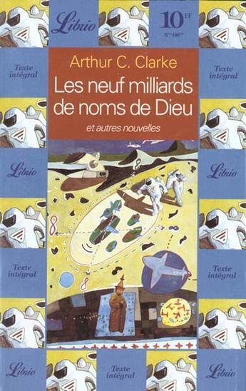 Couverture du livre « 9 milliards de noms dieu » de Arthur C. Clarke aux éditions J'ai Lu