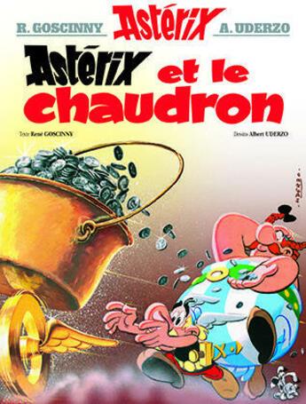 Couverture du livre « Astérix t.13 ; Astérix et le chaudron » de Rene Goscinny et Albert Uderzo aux éditions Hachette