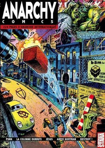 Couverture du livre « Anarchy comics » de Collectif aux éditions Stara