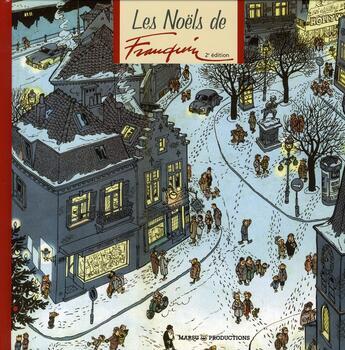 Couverture du livre « Les Noëls de Franquin » de Delporte et Andre Franquin aux éditions Marsu Productions