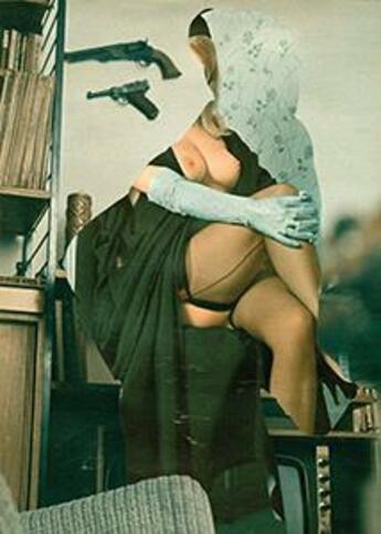 Couverture du livre « Amoureuse ou esclave » de Flore Kunst aux éditions United Dead Artists