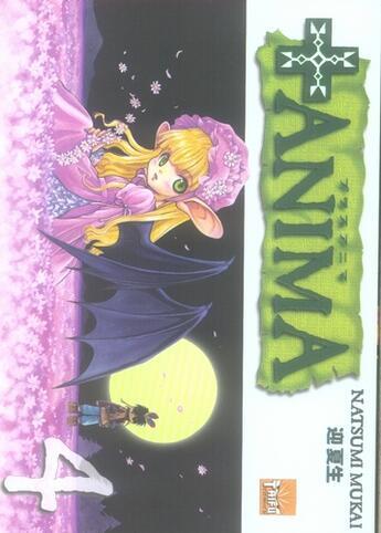 Couverture du livre « + anima t.4 » de Natsumi Mukai aux éditions Taifu Comics