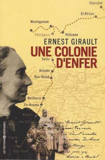 Couverture du livre « Une colonie d'enfer » de Ernest Girault aux éditions Editions Libertaires