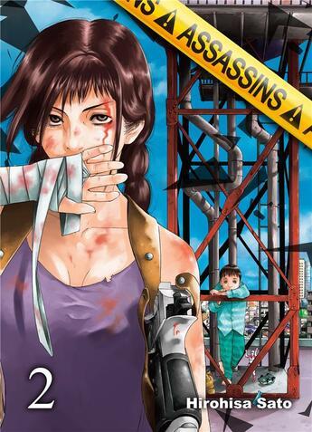 Couverture du livre « Assassins - Tome 2 » de Sato Hirohisa aux éditions Komikku