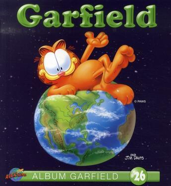 Couverture du livre « ALBUM GARFIELD T.26 » de Jim Davis aux éditions Presses Aventure