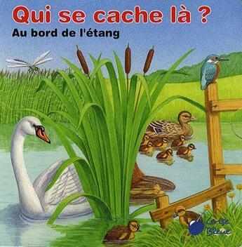 Couverture du livre « Au bord de l'étang » de Collectif aux éditions Cerise Bleue