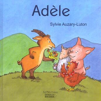 Couverture du livre « Adele » de Sylvie Auzary-Luton aux éditions Rocher