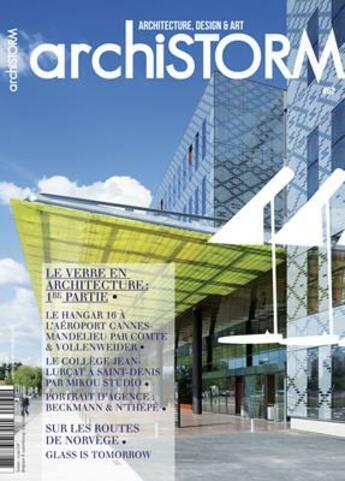 Couverture du livre « Archistorm verre en architec 1 - arci62 » de Collectif aux éditions Archistorm