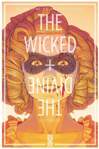 Couverture du livre « The wicked + the divine T.7 ; postérité » de Kieron Gillen et Jamie Mckelvie et Matthew Wilson et Clayton Cowles aux éditions Glenat Comics