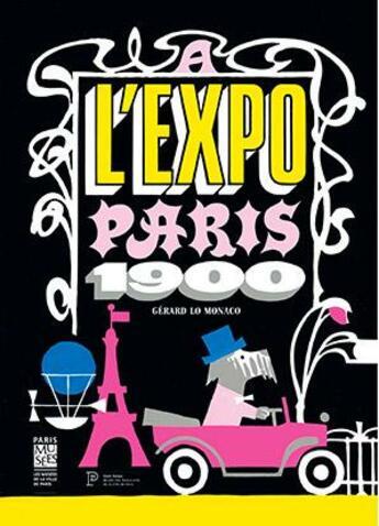 Couverture du livre « à l'expo ! » de Gerard Lo Monaco aux éditions Paris-musees